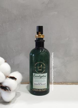 Универсальный мист bath and body works - eucalyptus