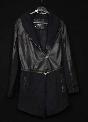 -15% sale!!! женская кожаная куртка пальто mage