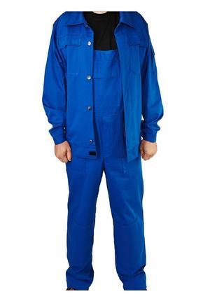 Полукомбинезон с курткой, костюм с плотной ткани, спецодежда