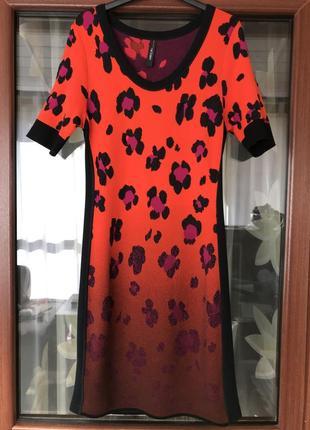 Платье миди джерси стильное модное дорогой бренд marc cain раз...