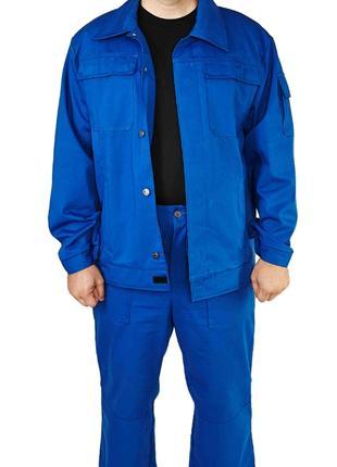 Модельный рабочий костюм, куртка с брюками, спецодежда