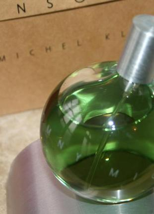 Винтаж парфюм michel klein insomny 50мл