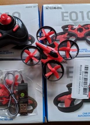 Дрон Eachine E010/JJRC H36 -лучший квадрокоптер для начинающих...
