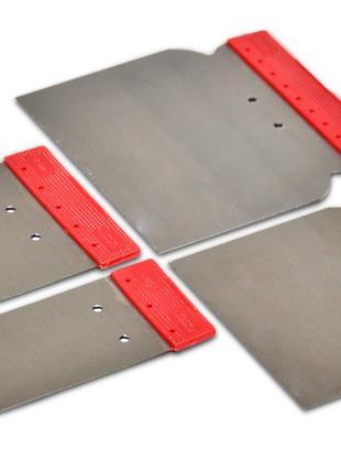 Набор стальных шпателей, 4шт Favorit 05-960 | Набір сталевих ш...