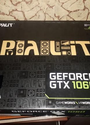 Видеокарта Palet GEFORCE GTX 1060