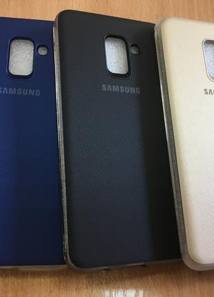 Чехол книжка для Samsung A8+ (Plus)2018 A730 Neon Flip Cover о...