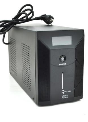 ИБП Ritar RTM2000 (1200W) Proxima-D LCD, AVR, 3st, 3xSCHUKO