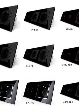 Сенсорный выключатель света LIVOLO черный