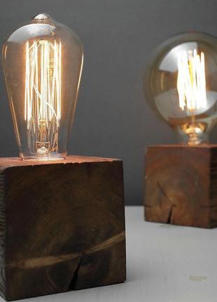 Светильник в стиле Loft с лампой Эдисон