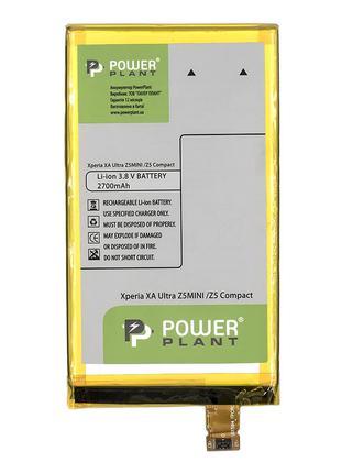 Аккумулятор PowerPlant Sony Xperia XA Ultra/ Z5 Compact 2700mAh