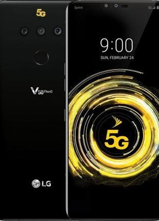 Смартфон LG V50 ThinQ 5G 6/128 Gb Black, 1sim, 12+16+12/5+8 Мп...