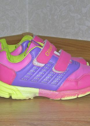 Кроссовки для девочки Clibee. Раз 33. Стелька 20.7 см