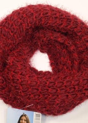 Снуд вязаный травка крупная вязка хомут труба шарф - нидерланды