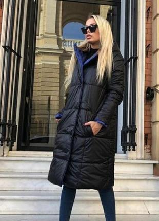 Двусторонняя куртка-пальто💣