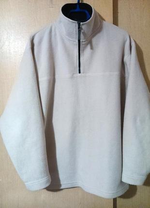 Тёплая флисовая кофта-свитер canda