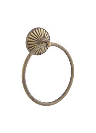 Полотенцедержатель ALL OPAL бронза кольцо BR OP015