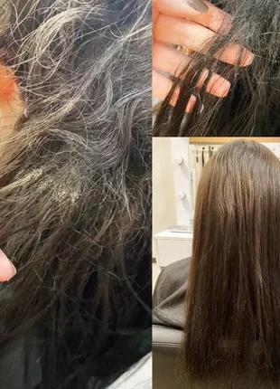 Распутывание колтунов и снятие волос