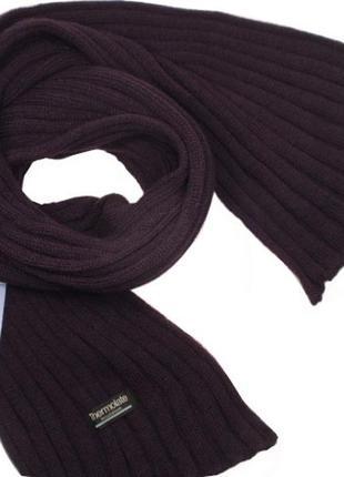 Вязаный шарф теплый мужской thermolite insulation - нидерланды