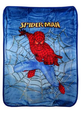 """Плед детский акриловый """"Человек паук"""" (Spider-man) 110х140 см."""