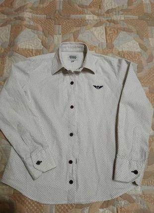 Рубашка armani на 6-7 лет