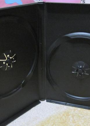 Коробки (боксы) на 2 DVD диска! Сумы!