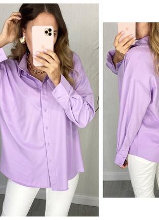 Рубашка женская классическая в деловом стиле с длинным рукавом...