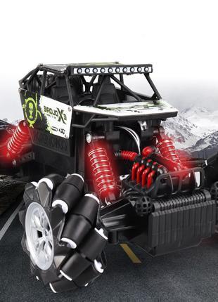 Машинка на радиоуправлении 4WD 1:16 Дрифт под углом 90 градусов
