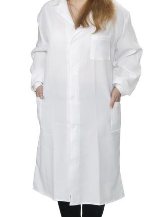 Халат с габардина, женский рабочий халат