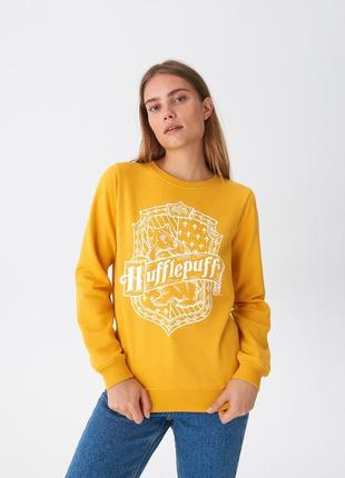 Новая желтая кофта польша harry potter hufflepuff гарри поттер...