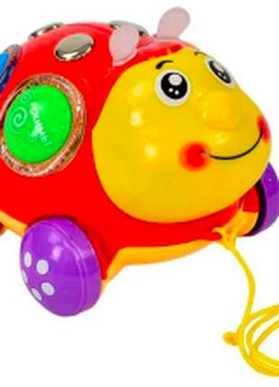 Детская игрушка каталка музыкальная Чудо жук Play Smart 7573
