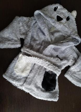 Детский халат панда)))