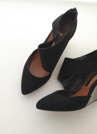 Туфли лодочки на платформе f&f limited edition 38 размер