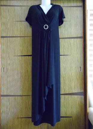 Платье «в пол» трикотаж, новое yours размер 16 – идет на 50-52+.