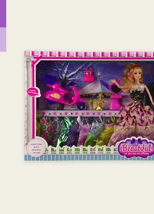 Игровой набор семья кукол 8698B Кукла в наборе с Кеном с наряд...