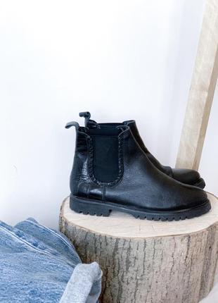 Челсі ботинки шкіряні