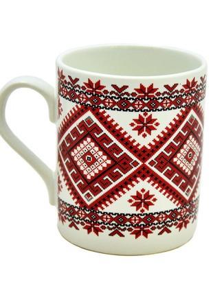 Кружка, чашка керамическая Вышиванка