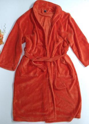 Яркий мягкий халат размер l
