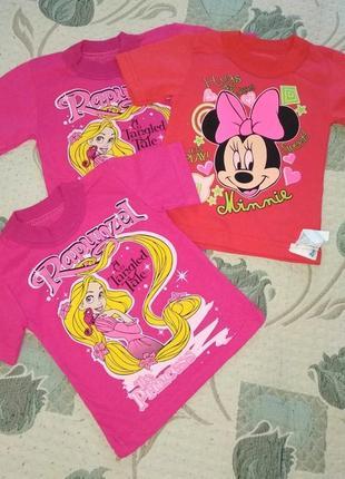 Набор футболки детские для девочек