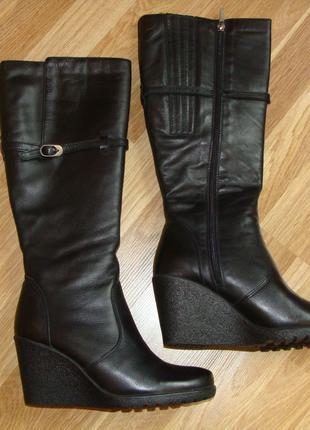 Сапоги женские LESTA кожаные (европейка 38 размер)
