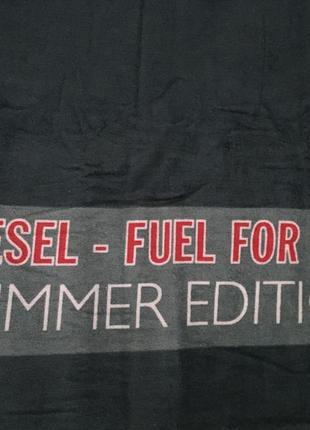 Полотенце пляжное большое, покрывало пляжное diesel