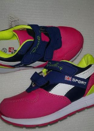 Стильные качественные кроссовки для девочек тм jong golf
