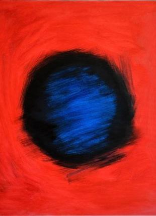 Живопись, большая яркая абстрактная картина 70х80 см