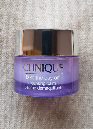 Бальзам для снятия стойкого макияжа Clinique