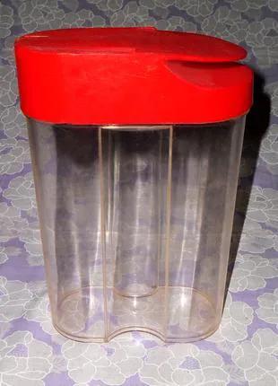 Пластиковые банки, емкости для хранения пищевых,сыпучих продуктов