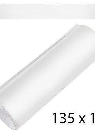 Полоса на лобовое стекло 170х1350мм белая матовая (полоса)