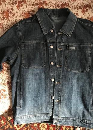 Куртка джинсовая и джинсы {костюм}