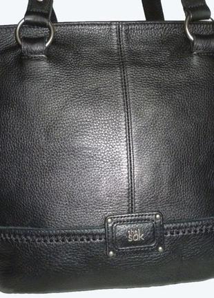 Стильная большая сумка натуральная кожа the sak