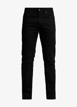 Джинсы из натурального джинса денима прямого кроя