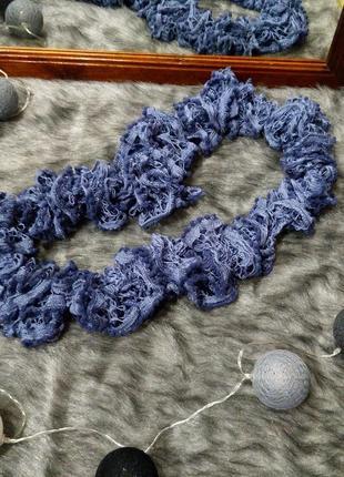 Вязаный шарф снуд