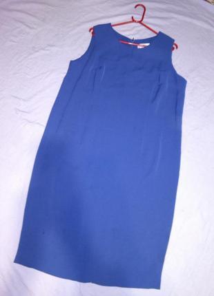 Длинное,элегантное,платье-сарафан с разрезом,большого 20-22 ра...